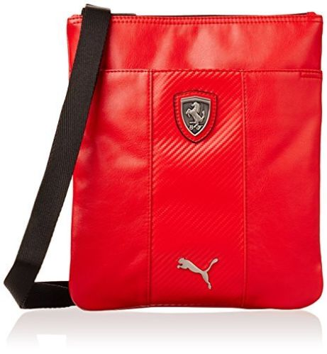 ee681544418 Puma Ferrari LS MAGAZINE CROSSBODY SHOULDER UNISEX Bag 073148-02