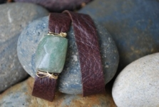 Indah Leather Wrap Bracelets