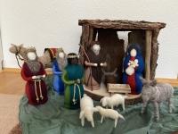 Wollfiguren aus Schafwolle   Barbara Ritsche