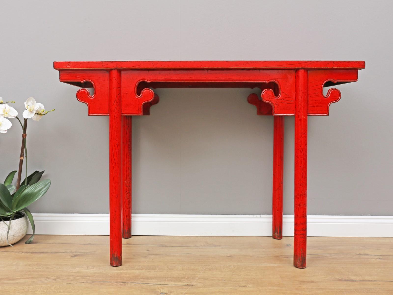 Tisch Couchtisch Sofatisch Opium Massivholz 120x50x70 DJ1678
