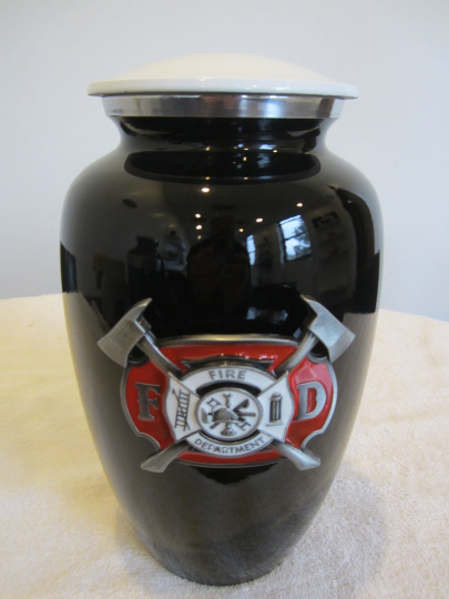 225 trucker driver funeral cremation urn