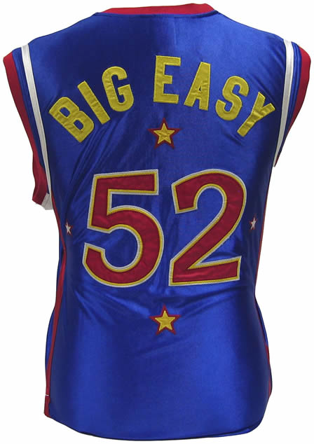 Harlem Globetrotters jersey w/ #52 on front and back