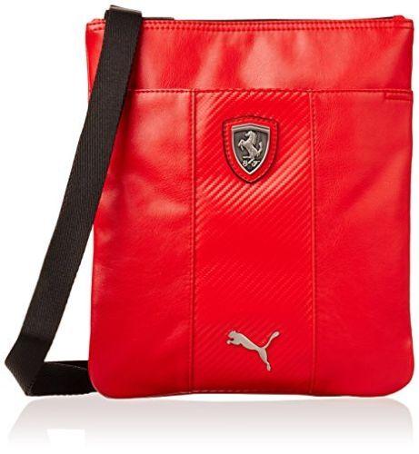 ... Puma Ferrari LS MAGAZINE CROSSBODY SHOULDER UNISEX Bag 073148-02 low  priced 99966 a9710 ... 5cf59c31cd62c