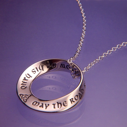 L170489irishprayerpg04ng irish prayer mobius necklace mozeypictures Gallery