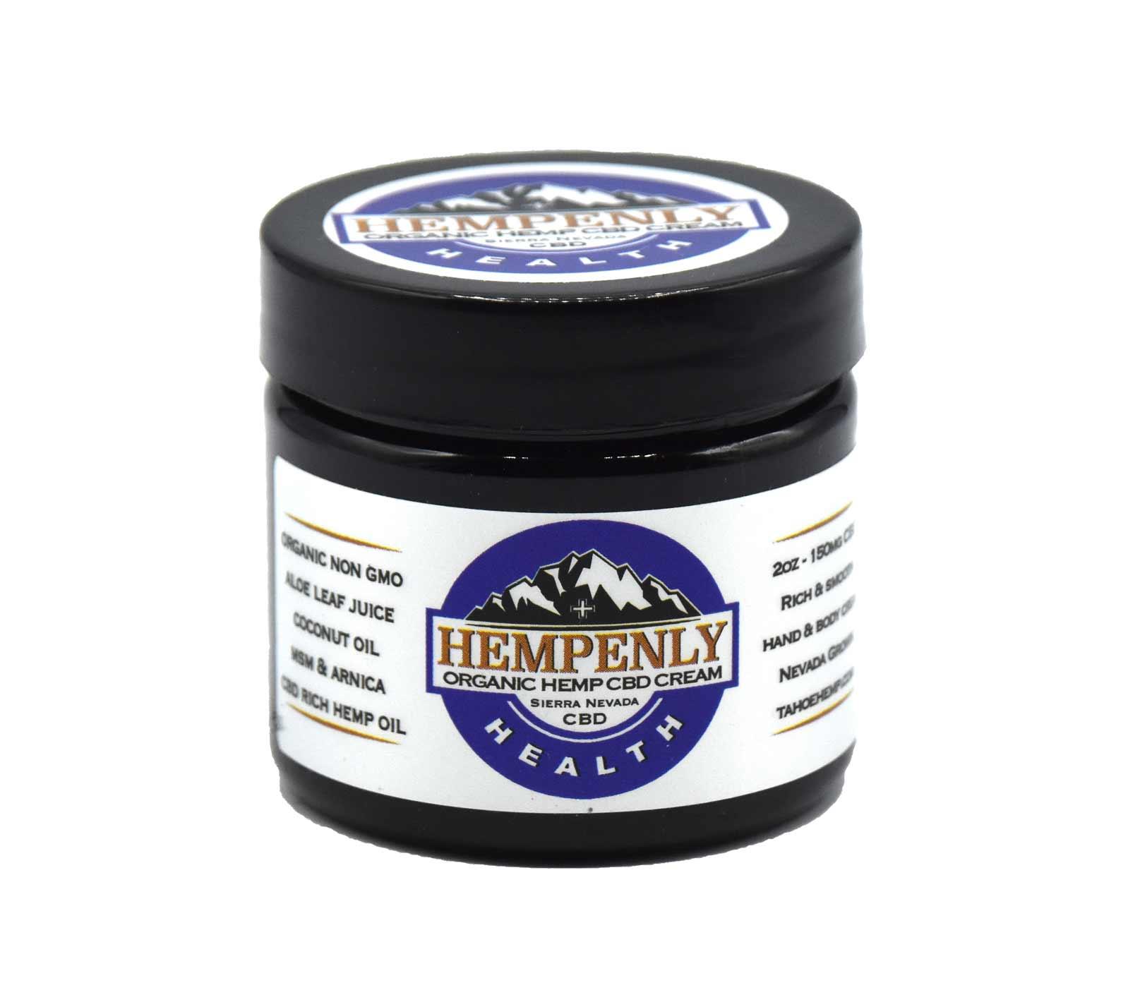 Hempenly Health CBD/MSM Arnica Cream